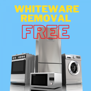 Free Whiteware Removal